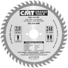 Katkaisuterä puulle CMT 210x2,8x30; Z48; 15°