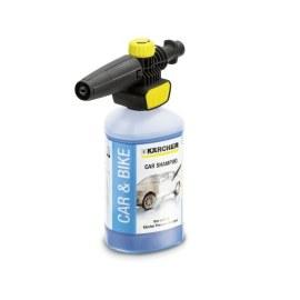 Vaahdotussuutin Karcher Connect 'n'Clean FJ 10 C + Autonpuhdistusaine Karcher; 1l