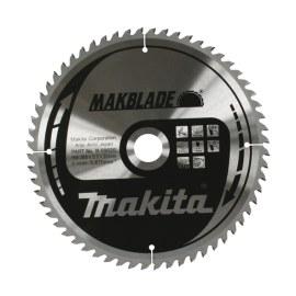 Katkaisuterä puulle Makita MAKBLADE; 260x2,3x30,0 mm; Z64; 5°