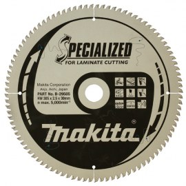 Katkaisulaikka laminaatille Makita; 305x2,5x30,0 mm; Z96; 5°