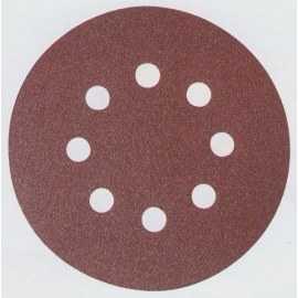 Hiomapaperi Velcro Backed 125 mm; K40; 10 kpl.