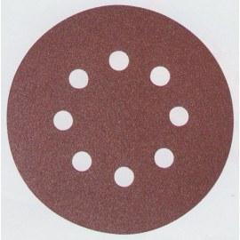 Hiomapaperi Velcro Backed 125 mm; K180; 10 kpl.