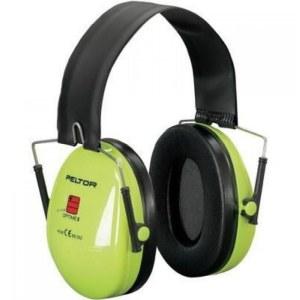 Kuulosuojaimet 3M Peltor Optime I Hi-Viz; 27 dB; Vihreä