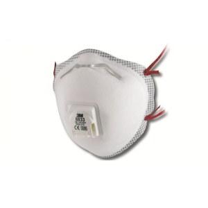Hengityssuojain venttiilillä 3M 8833; FFP3