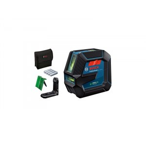 Ristilinjalaser Bosch GLL 2-15 G + tarvikkeet