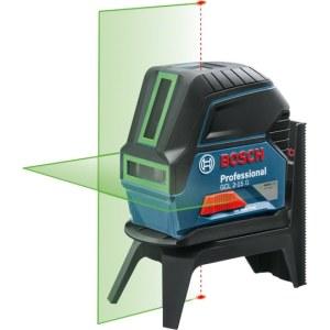 Linjalaser Bosch GCL 2-15 G vihreä + universaali pidike RM1