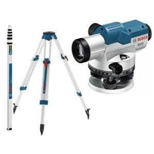 Optinen vaaituslaite Bosch GOL 32D + jalusta BT 160 + viivoitin GR 500