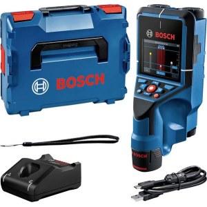 Rakenneilmaisin metallille ja puulle Bosch D-Tect 200 C; 12 V; 1x2,0 Ah akku