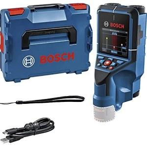 Rakenneilmaisin metallille ja puulle Bosch D-tect 200 C; 12 V; (ilman akkua ja laturia)