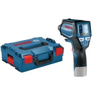 Lämpötila- ja kosteustunnistin Bosch GIS 1000 C; 10,8 V (ilman akkua ja laturia)