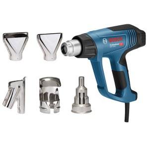 Kuumailmapuhallin Bosch GHG 23-66 + tarvikkeet