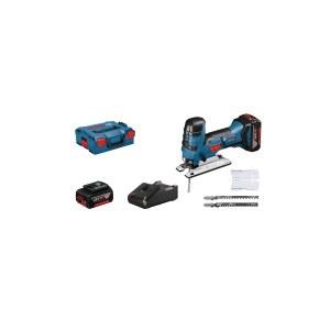 Pistosaha Bosch GST 18 V-LI S; 18 V; 2x4,0 Ah akku