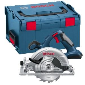 Akkupyörösaha Bosch GKS 18 V-LI Solo (ilman akkua ja laturia)