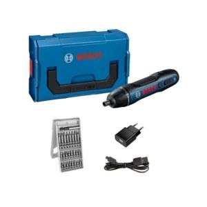 Ruuvinväännin Bosch GO l-boxx Mini; 3,6 V; 1x1,5 Ah akku