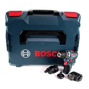 Pora/ruuvinväännin Bosch GSR 12V-35 FC; 12 V (ilman akkua ja laturia) + Lisävarusteet