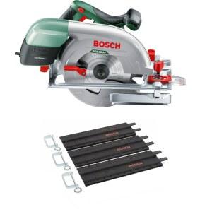 Pyörösaha Bosch PKS 66-2 AF + 3x35 cm ohjauskisko