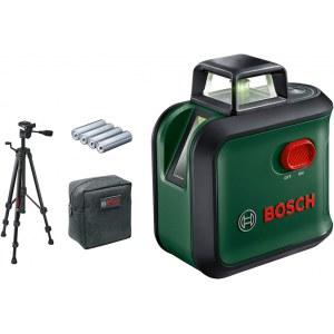 Linjalaser Bosch AdvancedLevel + tarvikkeet
