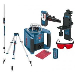 Pyörivä laservaaituslaite GRL 300 HV + Laservastaanotin LR1 + Kolmijalka BT 170 + Mitta GR 240