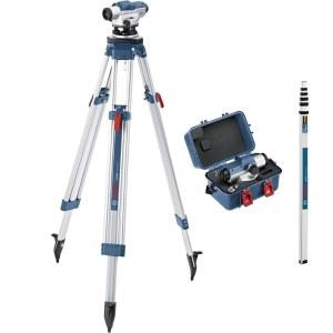 Optinen vaaituslaite Bosch GOL 32D + BT160 Prof. + GR500 Prof
