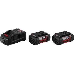 Akku Bosch GBA; 36 V; 2x6,0 Ah + Laturi GAL 3680 CV