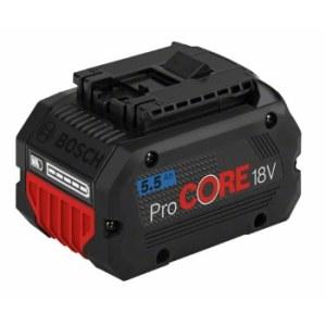 Akku Bosch GBA ProCORE; 18 V; 5,5 Ah akku