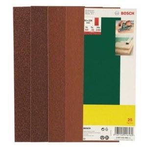 Hiomapaperi tasohiomakoneeseen 93x230 mm; K60-K240; 25 kpl.