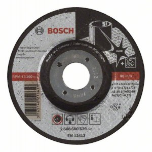 Hiomalaikka Bosch AS 30 S INOX BF; 115x6 mm