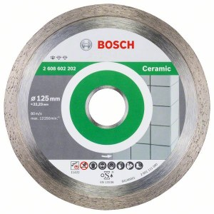 Timanttikatkaisulaikka Bosch PROFESSIONAL FOR CERAMIC; 125