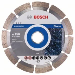 Timanttikatkaisulaikka Bosch PROFESSIONAL FOR STONE; 150 mm