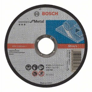Hiova katkaisulaikka Bosch Standard; 115x1,6 mm
