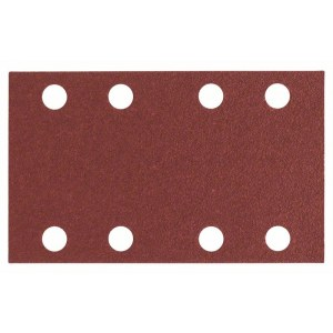 Hiomapaperi tasohiomakoneeseen Expert for Wood; 80x133 mm; K80; 10 kpl.