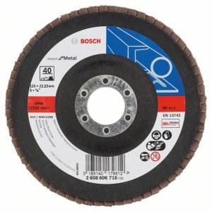 Lamellihiomalaikka  Bosch Expert for Metal; 125 mm