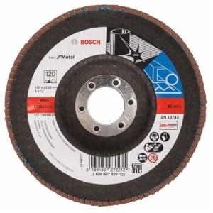 Lamellihiomalaikka  Bosch 2608607320; 125 mm; K120