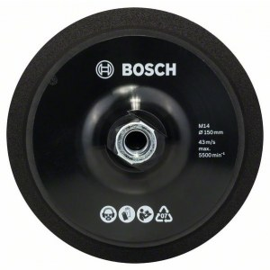 Hiomalautanen Bosch; 150 mm kulmahiomakoneeseen