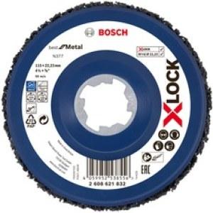 Puhdistuskarhunkieli Bosch X-LOCK N377 Metal; 115 mm