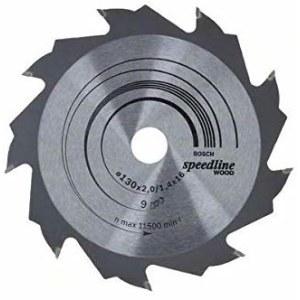 Katkaisuterä puulle Bosch SPEEDLINE WOOD; 130x2x16,0 mm; Z9; 15°