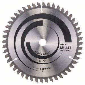Katkaisuterä puulle Bosch; MULTI MATERIAL; Ø184 mm
