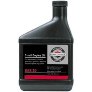 Öljy Briggs&Stratton 4T; 0,6l ruohonleikkurin ja puutarhatraktorin moottori