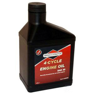 Öljy Briggs&Stratton 4T; 1,4l ruohonleikkurin ja puutarhatraktorin moottori