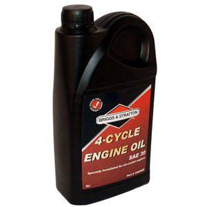 Öljy Briggs&Stratton 4T; 2,0l ruohonleikkurin ja puutarhatraktorin moottori
