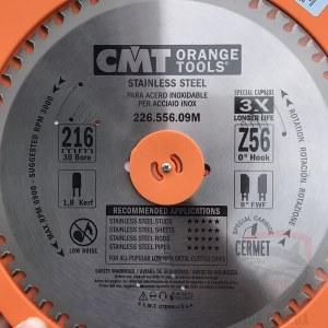 Katkaisulaikka metalli CMT 216x1.8x30; Z56; 10°