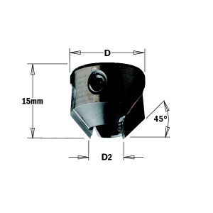 Jyrsinterä CMT 316.120.12; 20 mm; D2=12 mm