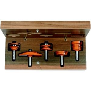 Jyrsinteräsarja  CMT for kitchen; 12 mm; profile B; 5 osat