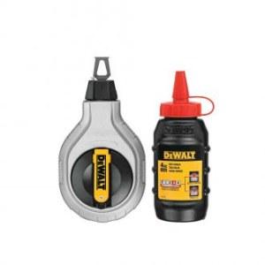 Merkintäliitu täyttöpakkaus, liitulanka / mittanauha DeWalt DWHT47048; 225 g; punainen