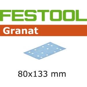 Hiomapaperi tasohiomakoneeseen Granat; 80x133 mm; P80; 10 kpl.