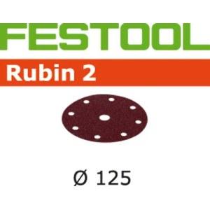 Hiomapaperi Rubin2; 125 mm; P180; 10 kpl.