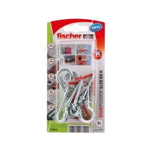 Tappi Fischer RH K NV; 8x40 mm