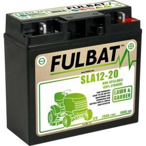 Akku ajoleikkuriin Fulbat SLA12-20; 12 V; 20 Ah geelillä
