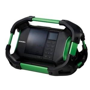 Työmaaradio HikokiUR18DSDL DAB/DAB+/FM/AM; 14,4-18 V (ilman akkua ja laturia)