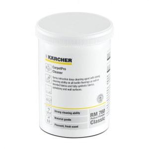 Tekstiilien puhdistuspulveri Karcher RM 760 Classic; 0,8 kg; pH 8,2